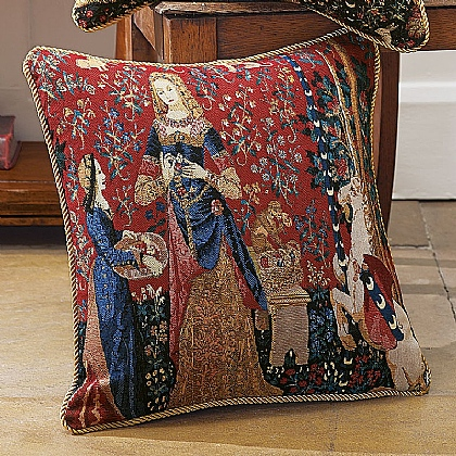 Lady & Unicorn 'Smell' Cushion