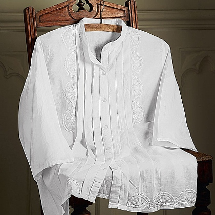 Duc De Berry Cotton Blouse