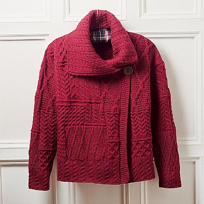 Museum Selection Irish Wool Cardigan
