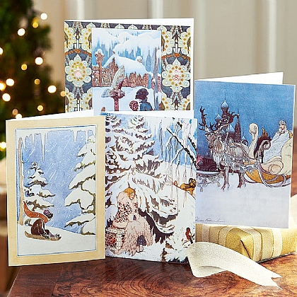 Museum Selection Winter Fairytale Cards