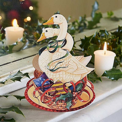 Christmas Geese Cards