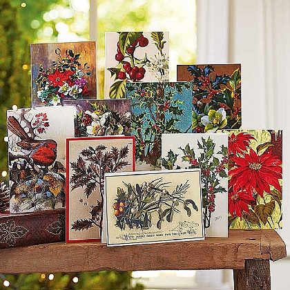 Winter Foliage Christmas Cards
