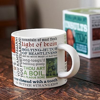 Museum Selection Shakespeare's Insults Mug