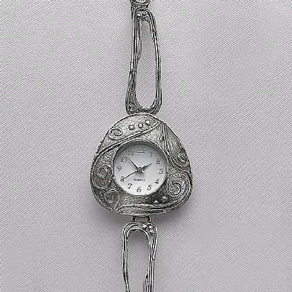 Klimt Silver Watch