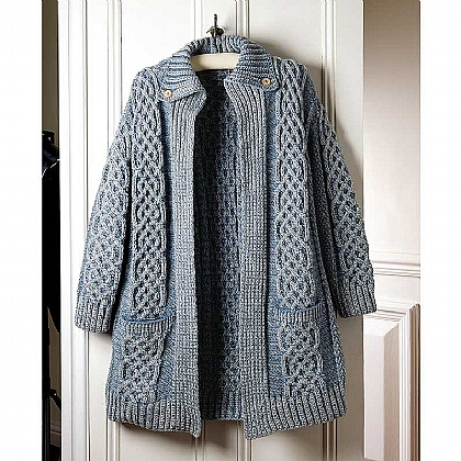 Museum Selection Knotwork Wool Cardigan