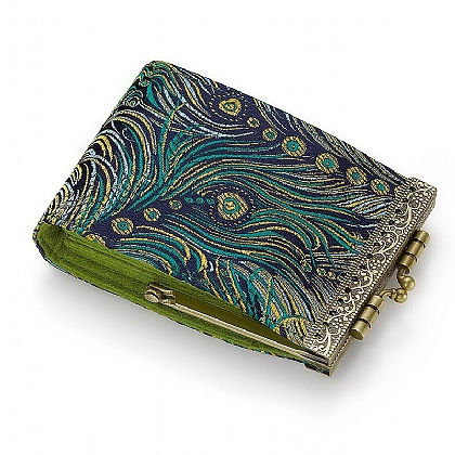 Peacock Feather Card Holder RFID
