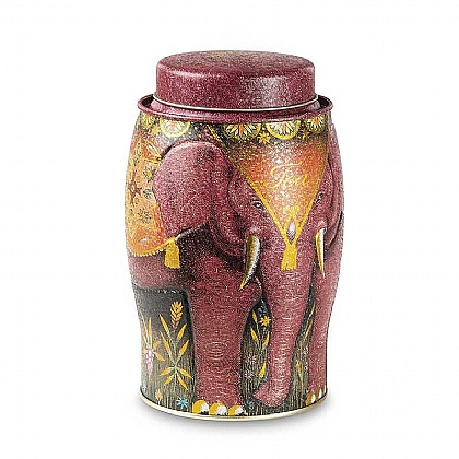 Museum Selection Kenyan Earth Elephant Tea Caddy