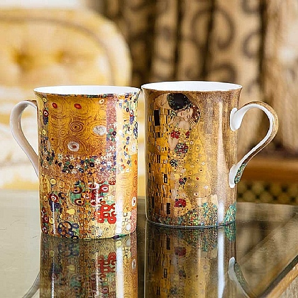 Klimt Stoclet Detail China Mug