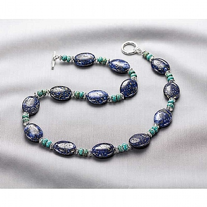 Museum Selection Lapis & Turquoise Necklace