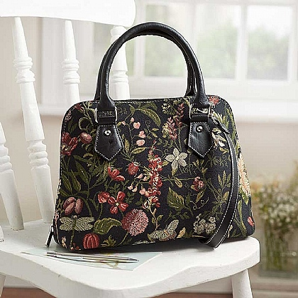 Botanical Studies Tapestry Handbag