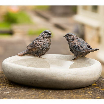 Becquerel Bird Bath