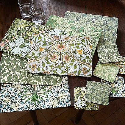 Museum Selection Morris Tablemats & Coasters