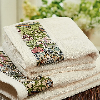 Golden Lily Hand Towel