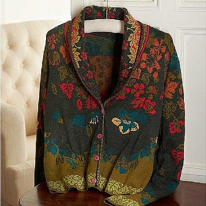 Museum Selection Morris Wool Cardigan