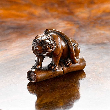 Museum Selection Tiger Netsuke