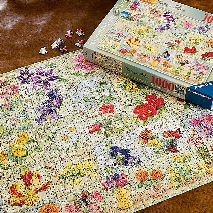 Cottage Garden Flora Jigsaw