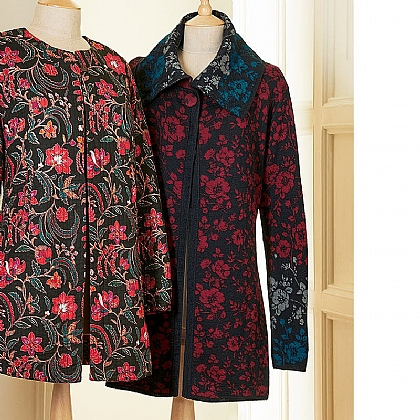 Museum Selection Victorian Blooms Cardigan
