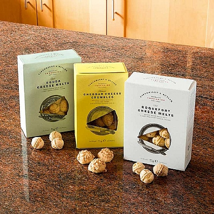 Museum Selection Set of 3 Cheese Melts & Crumbles