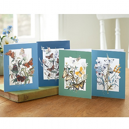 20 British Butterflies Cards