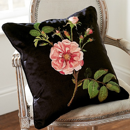 Damask Rose Cushion