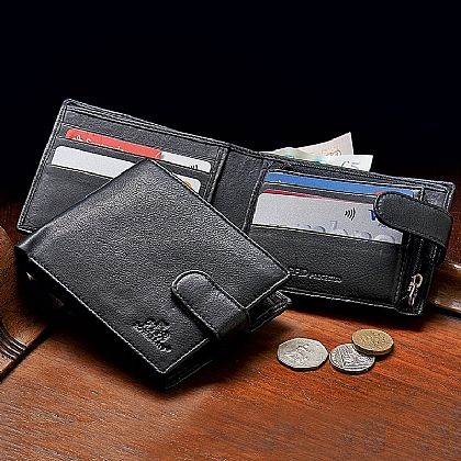 Foster Leather RFID Wallet