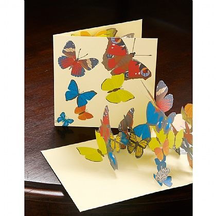 3 Pop-up Butterfly Cards