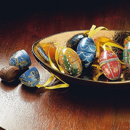 Set of 6 Imperial Miniatures Egg Tins