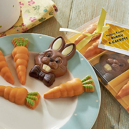 Welsh Bunny & Carrots Chocolates