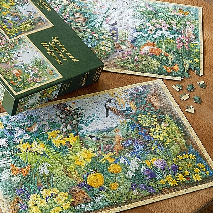 Spring & Summer Hedgerow Jigsaws