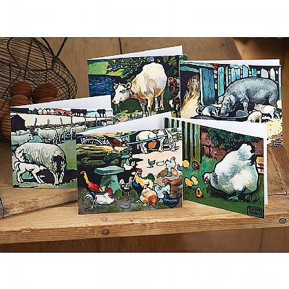 20 Farmyard Scenes Cards