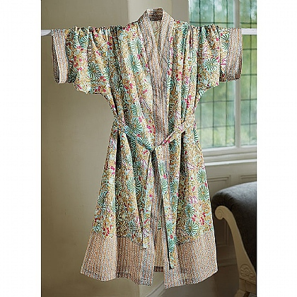 Art Nouveau Cotton Robe