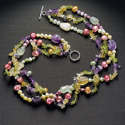 Museum Selection Arts & Crafts Gemstone Necklace