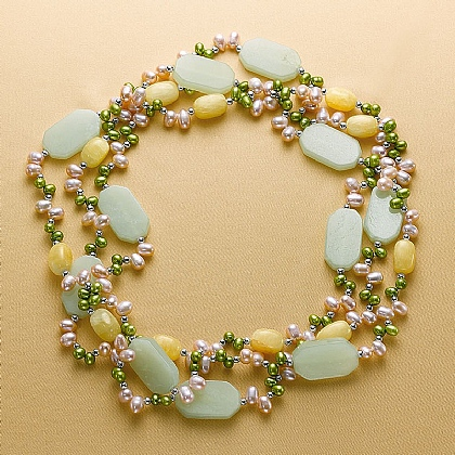 May Morris Pearl Necklace