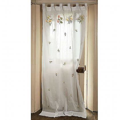Arts & Crafts Embroidered Curtain