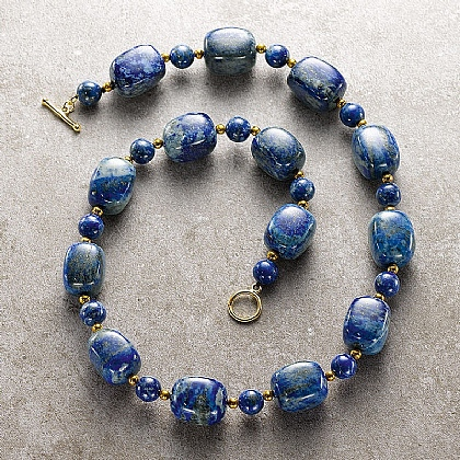 Turner Lapis Necklace