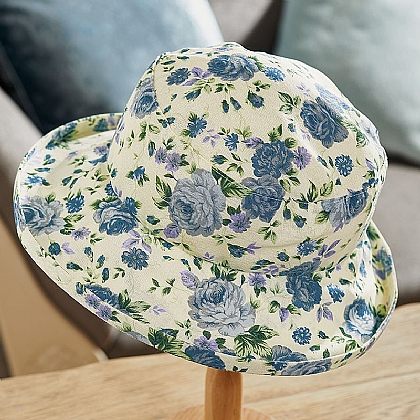 Ida Floral Packable Hat
