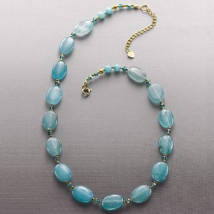 Giverny Agate Necklace