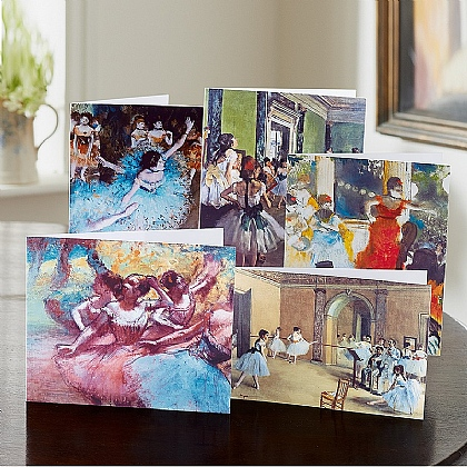 20 Degas Dance Cards