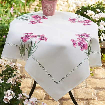 Iris Tablecloth