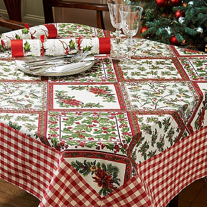 Patchwork Christmas Tablecloth