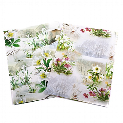 Snowdrops & Hellebores Gift Wrap & Tags