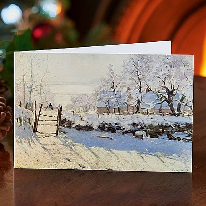 Monet La Pie Cards