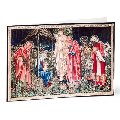 The Adoration Morris Tapestry Cards