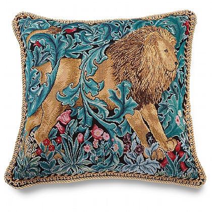 Morris Lion Tapestry Cushion