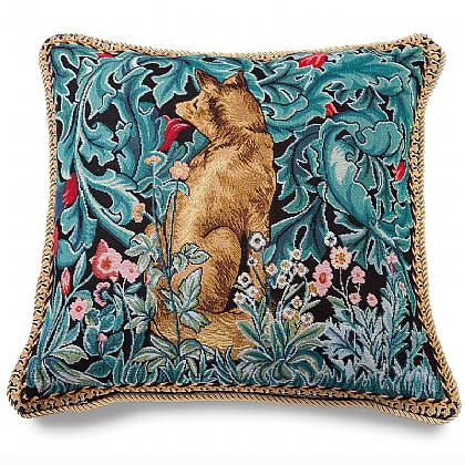 Morris Fox Tapestry Cushion
