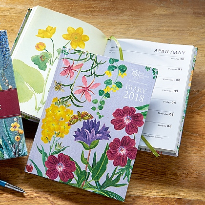 Botanical Desk Diary 2018