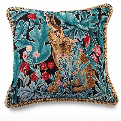 Morris Hare Tapestry Cushion