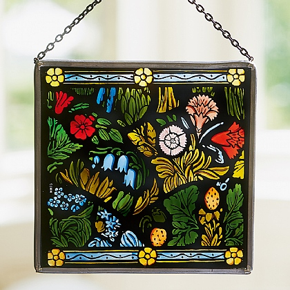 Buscot Floral Glass Panel