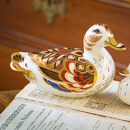 Wigeon Duck Paperweight