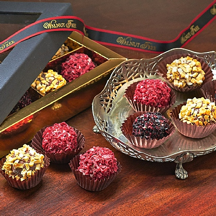 Hand-decorated Fruit Truffles